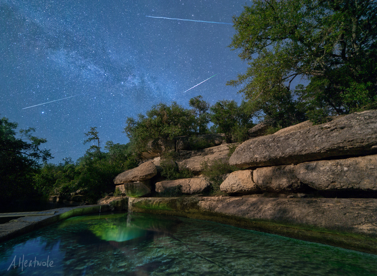 Jacobs Well Perseids