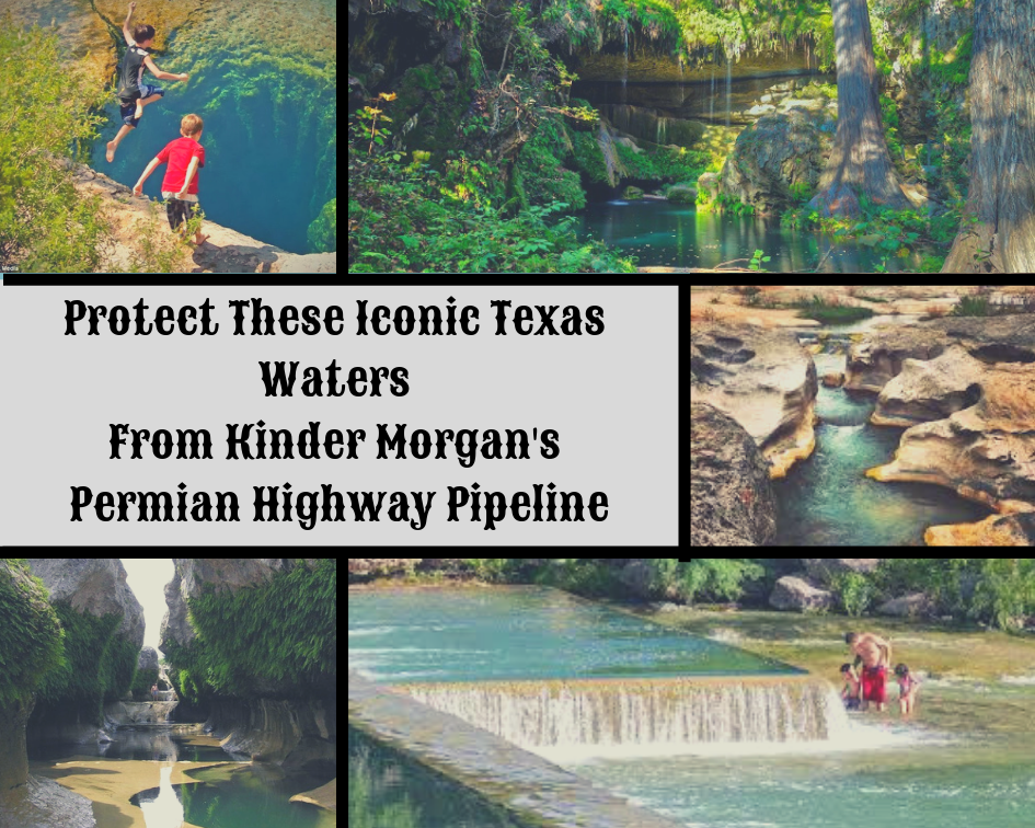Permian Highway Pipeline - Wimberley Valley Watershed