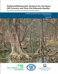 Preferred Wastewater Systems for the Texas Hill Country Report