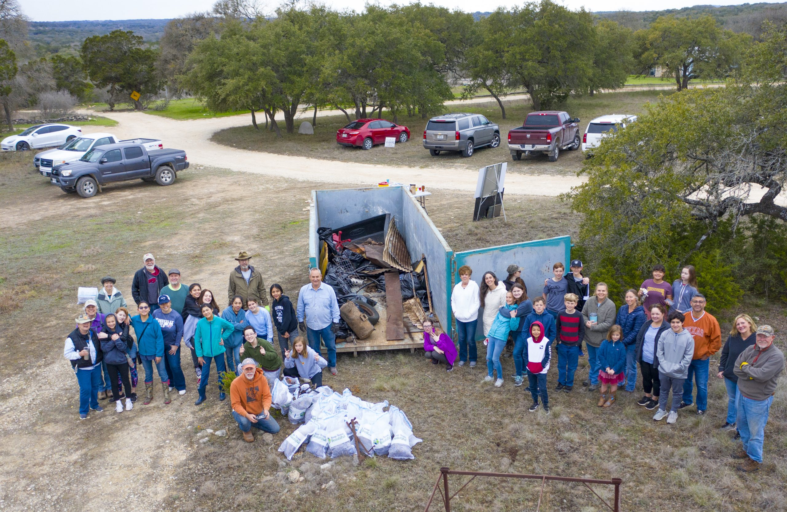 Helping Protect Groundwater Quality – Trash Cleanup at Coleman's Canyon