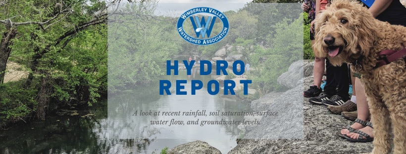 Brief description of monthly hydro conditions